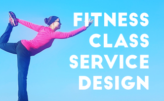 Fitness class service design -title image