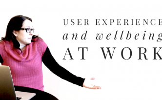 UX and wellbeing at work - title image